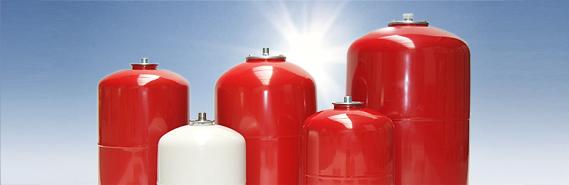 Ausdehnungsgefäße für Trinkwasser- / Brauchwasseranlagen