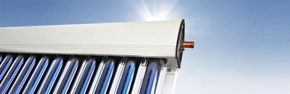 Eurotherm-Solar PRO CPC Vakuumröhrenkollektoren (mit Spiegel)