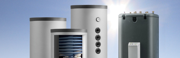 Bunksolar Druckloser Pufferspeicher mit zwei Wärmetauschern