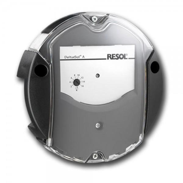 Solarsteuerung Resol DeltaSol AX (inkl. 2 PT1000 Fühlern - 1 x FKP6 - 1 x FRP6) - Komplettpaket