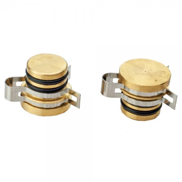 STI Verschlussdeckel-Set - NUR für STI Flachkollektoren geeignet