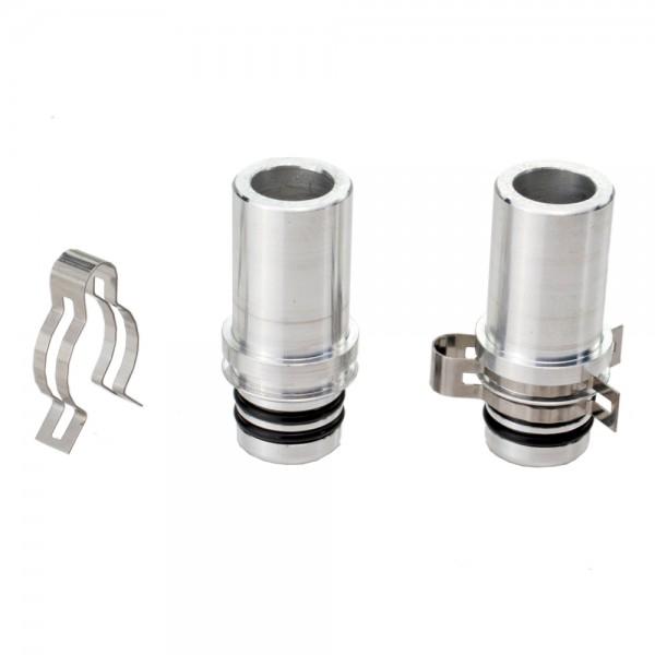 STI Kollektoranschluss-Set Aluminium - NUR für STI Flachkollektoren geeignet
