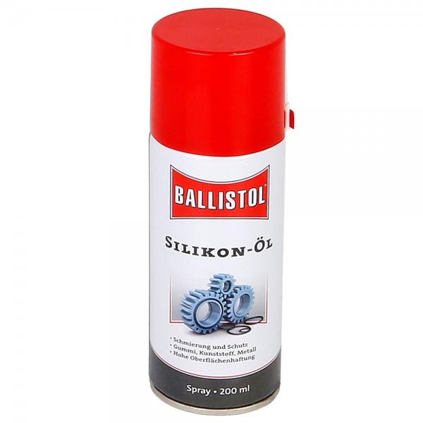 Ballistol Silikon Öl Spray 200ml Silikonspray Gleitspray Gummipflege Ölspray