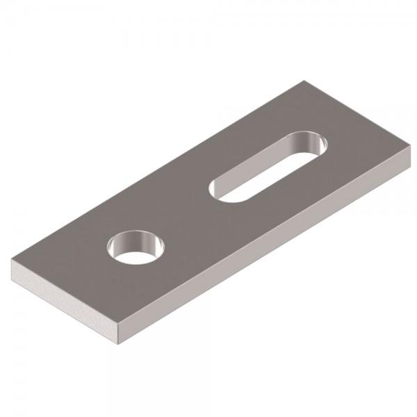 Verstellplatte Montageplatte Welldachbefestigung für Stockschrauben Verbinder Adapterblech