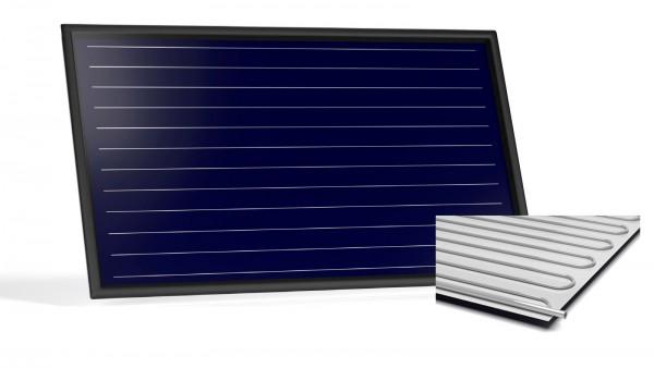 Flachkollektor Sonnenkollektor STI FKF 240H Al/Al (2,52 m²)