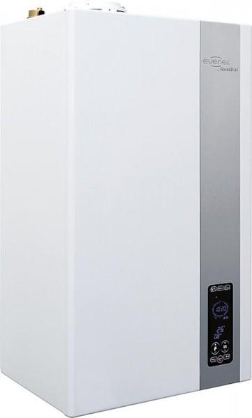 Gas-Brennwertgerät KRB-32 Gastherme 4,4-32,3KW Touchscreen-Oberfläche
