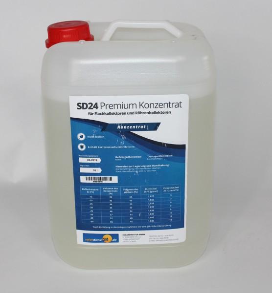 Solarflüssigkeit Konzentrat Wärmeträgemedium Frostschutz - 10 Liter