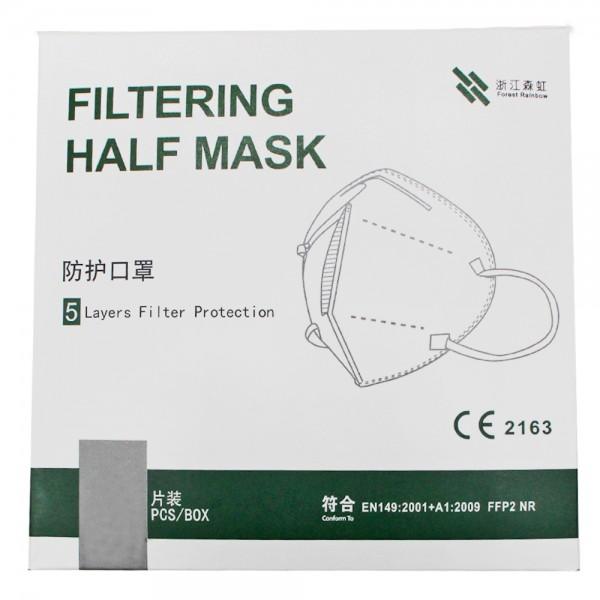 Zertifizierte FFP2 Maske Atemschutz Mundschutz Nase Gesichtsschutz CE2163