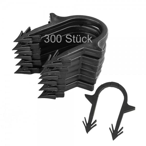 300 Stück Heizrohrclips Tackernadeln Rohrhalter Fußbodenheizung Tackersystem