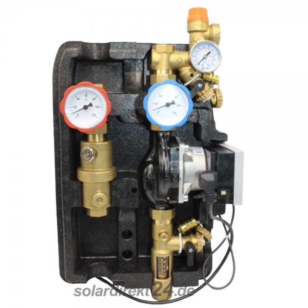 2-Strang Solarstation Pumpenstation bis 12 Liter