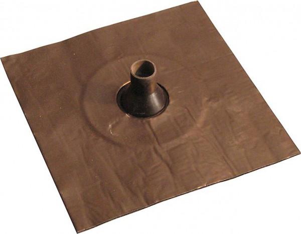 Luftdichtungsmanschette mit Alu-Butyl-Klebekragen 42-55mm