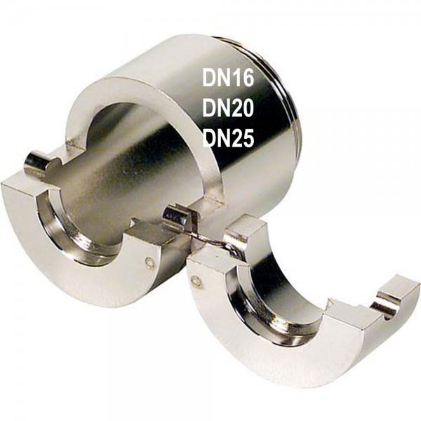 Klemmbacken für Flansch - Schlagwerkzeug DN16 DN20 DN 25