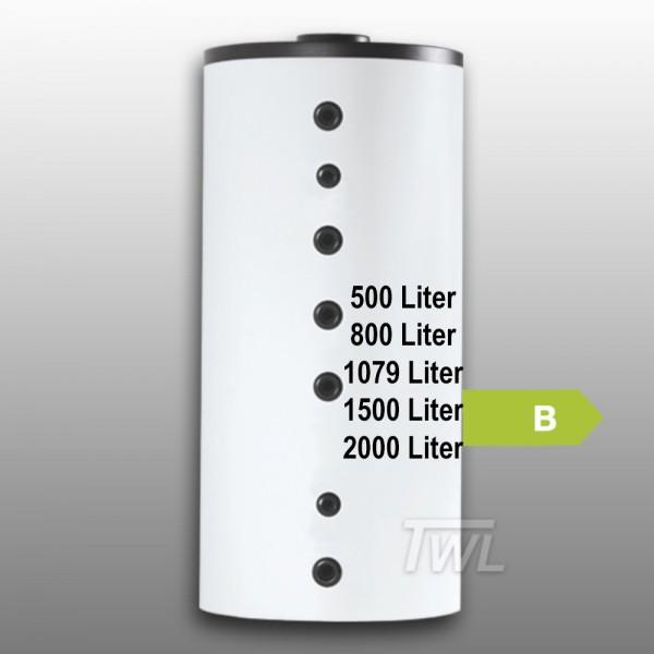 Hygiene-Kombispeicher 1x Trinkwasser Wärmetauscher EEK-B