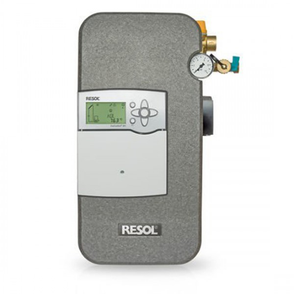 Solarstation Resol FlowSol B HE - DeltaSol BX Plus mit Wilo Yonos PARA ST 15/7.0-PWM2