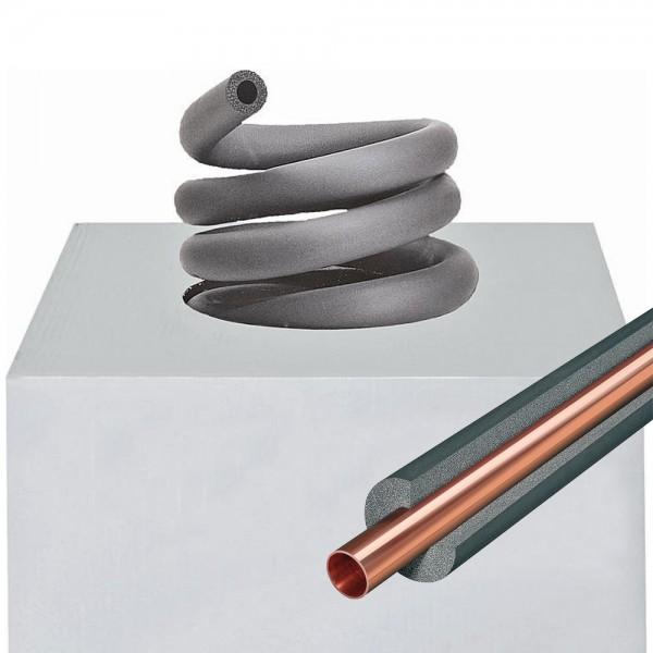 6mm Isolierschlauch EnEV 20m 30m 38m endlos Rohrisolierung Kautschuk