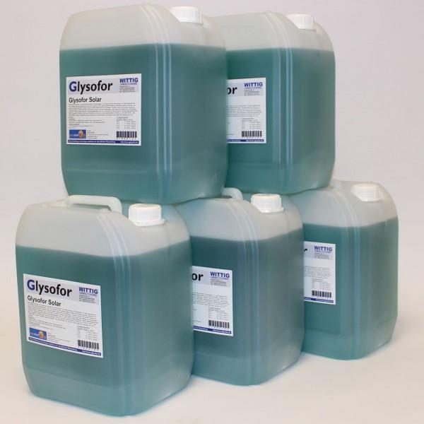 Solarflüssigkeit Konzentrat bis -50°C Frostschutz, Solarfluid - 50 Liter