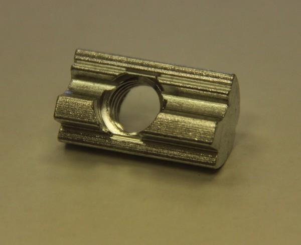 Nutensteine M8 einschwenkbar Federkugel Alu/Kugel A2, 13x10x8mm