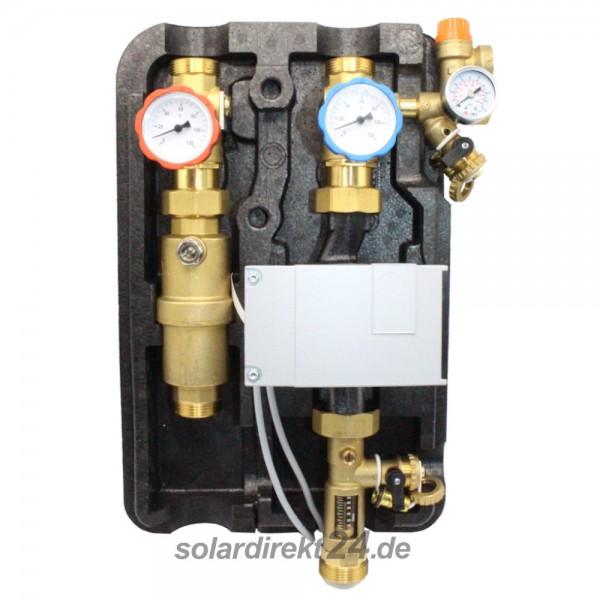 2-Strang Solarstation Pumpengruppe bis 40 Liter