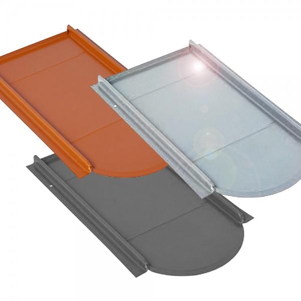 Unterlegplatte Typ Vario für Biberschwanz Ziegel Metalldachplatte