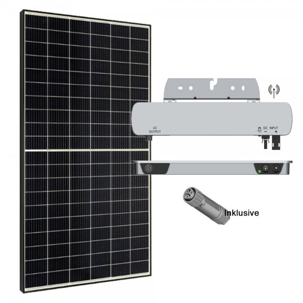 335W PV Balkonkraftwerk Hausanlage Solaranlage Basis Set inkl. Wechelrichter