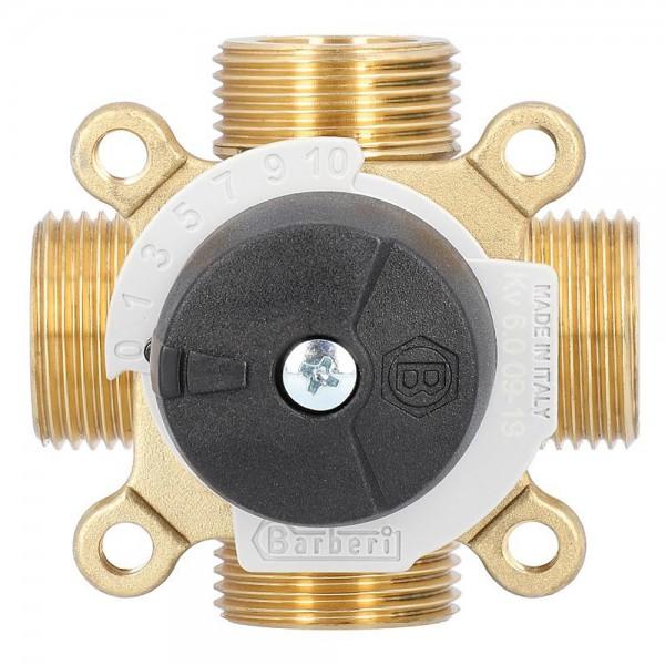 4-Wegemischer Easyflow AG Typ 451 Mischventil Umschaltventil