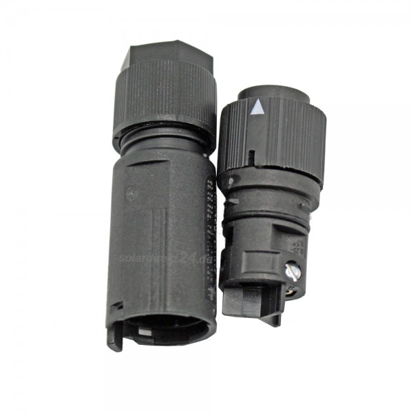 PV Mini Steckverbinder RST16i3 ZT4 5,0 - 9,5mm 3-polig 16A Buchsenteil schwarz