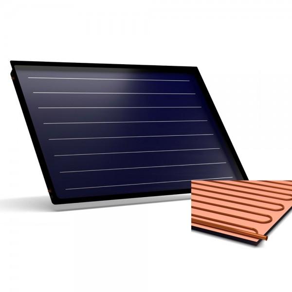 Flachkollektor Sonnenkollektor STI FINO 100 Cu-Cu (0,96 m²)