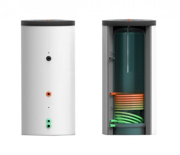 Trinkwasser- Speicher mit einem Wärmetauscher 120 Liter inkl. 50 mm Hartschaumisolierung (TWS-WT1-12