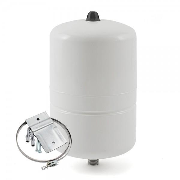 PREMIUM Ausdehnungsgefäß AQUAVAREM 19L + Wandhalterung Trinkwasser