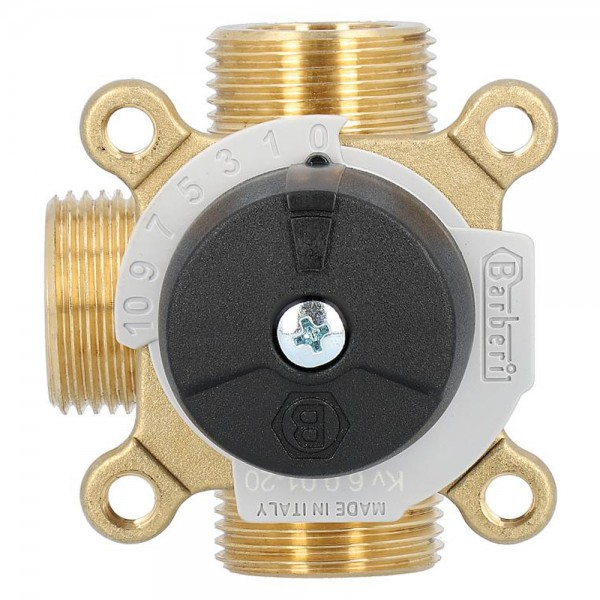 3-Wegemischer Easyflow Messing Typ 461 Mischventil Umschaltventil