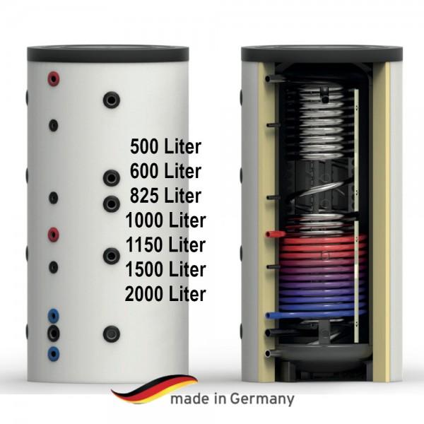Hygiene-Kombi-Speicher mit einem Wärmetauscher 500 - 2000 Liter Warmwasserspeicher