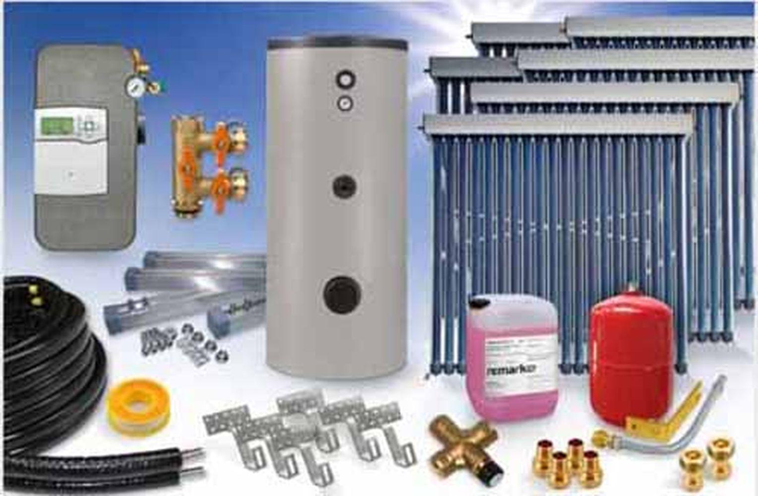 Solardirekt24 Heizungs Ausdehnungsgef/ä/ß 300 Liter