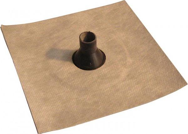 Luftdichtungsmanschette mit Vlies-Butyl-Klebekragen 50-65mm