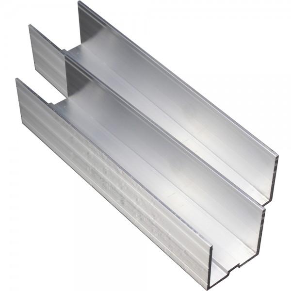 2er-Set U-Profilverbinder 200 x 40,4 x 40,4 mm für Trägerprofil