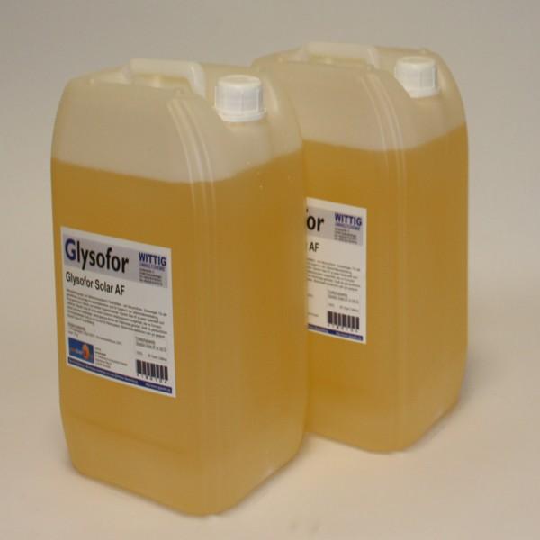 Solarflüssigkeit Glysofor AF 20 Liter Gebinde