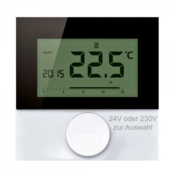 Alpha direct Digital Design 24V / 230V Raumtemperaturregler Raumthermostat