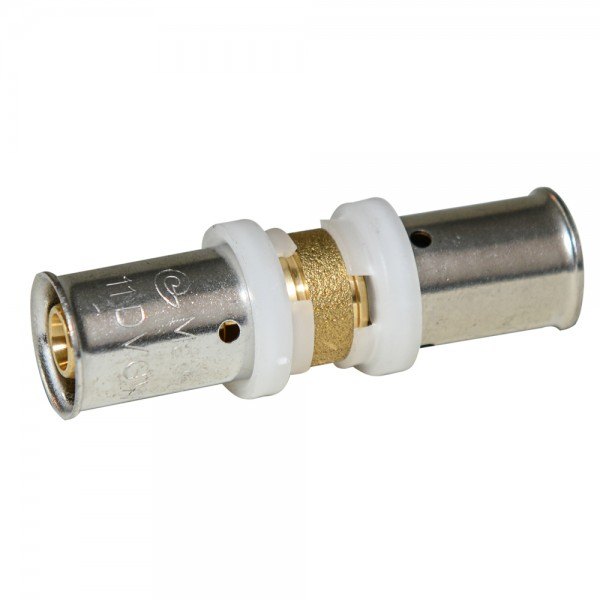 Press - Kupplung 17x2mm, DVGW, TH, Pressfitting, Presskupplung, Verbundrohr