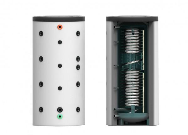 Hygiene- Kombi- Speicher ohne Wärmetauscher 825 Liter inkl. 120 mm Isolierung (HKS-WT0-825)