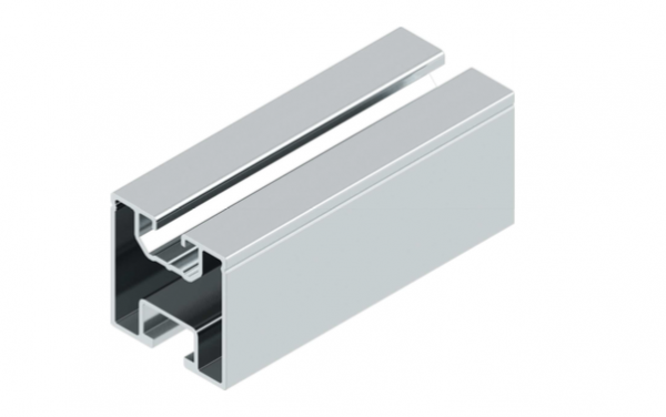 4,00m Aluminium Trägerprofil / Montageprofil 40x40mm