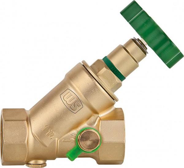 Schrägventil Freistromventil KFR mit Entleerung Schrägsitzventil Absperrventil