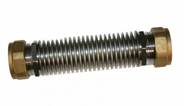 Kompensator - Kollektorkopplung / Kollektorverbinder 22x22mm Klemmringverschraubung