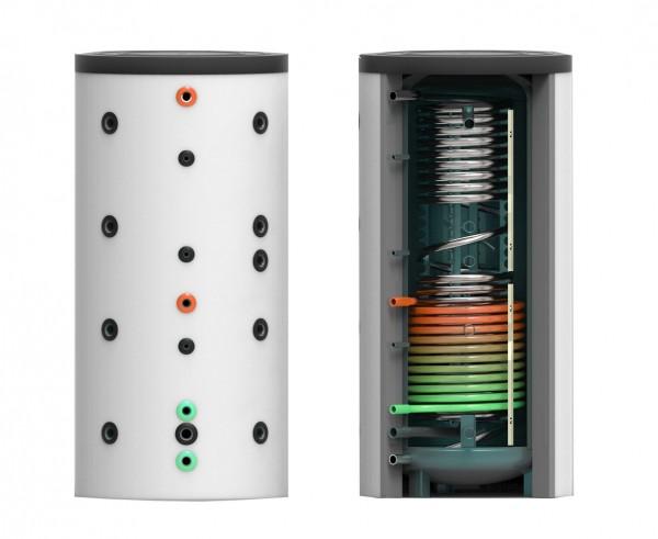Hygiene- Kombi- Speicher mit einem Wärmetauscher 1000 Liter inkl. 120 mm Isolierung – 85cm (HKS-WT1-