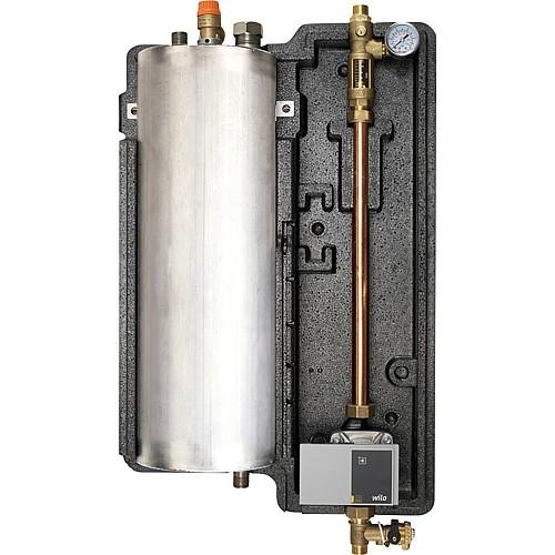 Orkli Solarstation - 8 Liter Drain Back mit 13m HE-PWM Pumpe