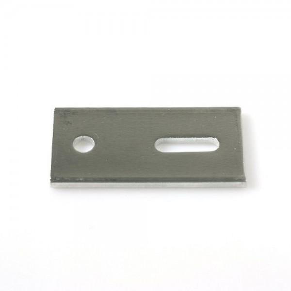 Verstellplatte für unsere Welldachbefestigung aus Aluminium
