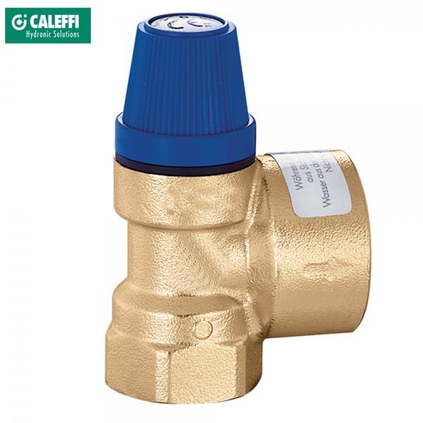 Caleffi Membran Sicherheitsventil 6bar bis 10bar Überdruckventil Wasser